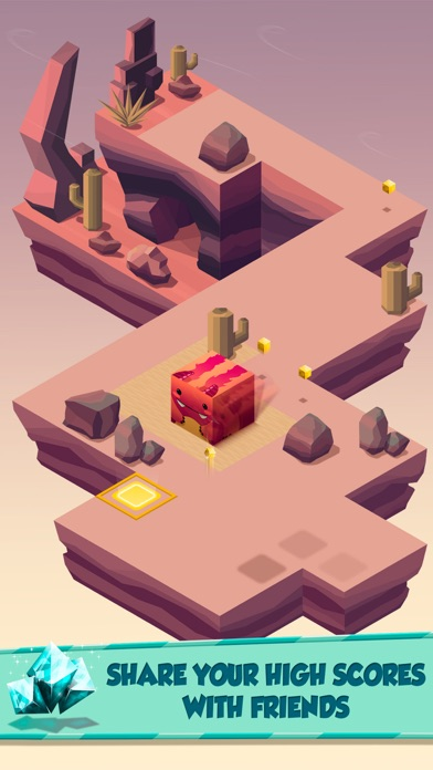 Switch Sides - Cube Adventure screenshot three