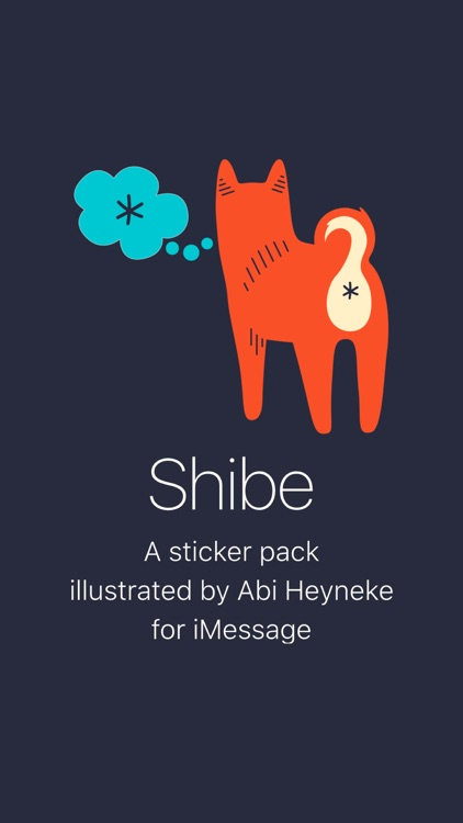 Shibe Stickers by Abi Heyneke screenshot-3