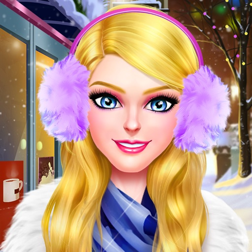 Winter Holiday Fashion Salon - My Snowy Closet!