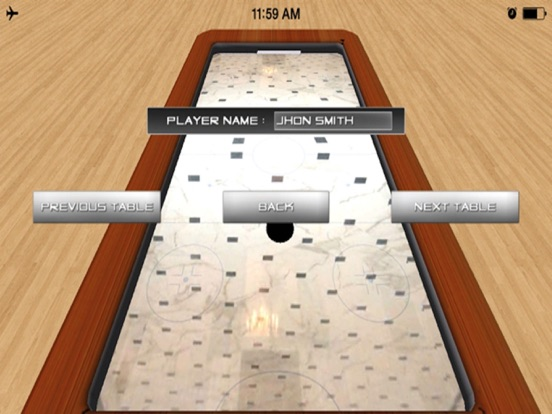 Air Hockey 3D Touch Arcade game screenshot