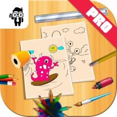 Activities of Monster Kids Coloring Book Pro