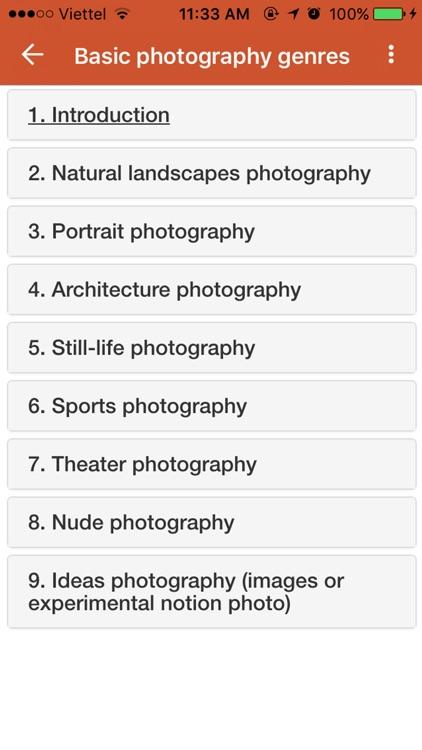 Photography Guide screenshot-4