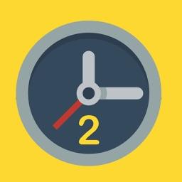 Simply Clock 2 - Die größte Uhr im Store