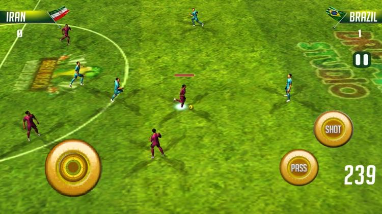 Real Soccer - World Storm Football screenshot-3