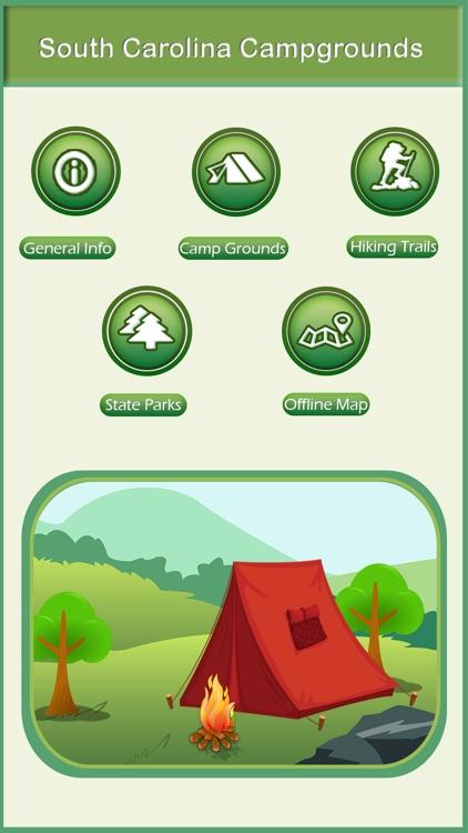South Carolina Camping & Hiking Trails