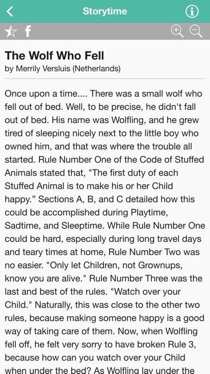 Storytime for Kids app