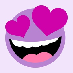 Purple People Emojis Sticker Pack
