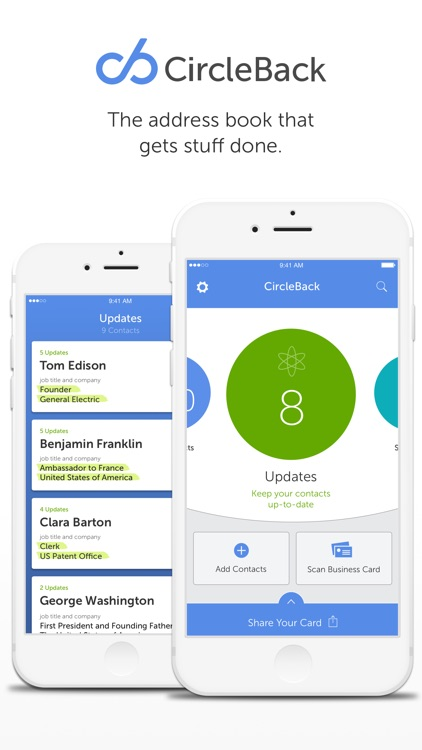 CircleBack - Updated Contacts screenshot-4