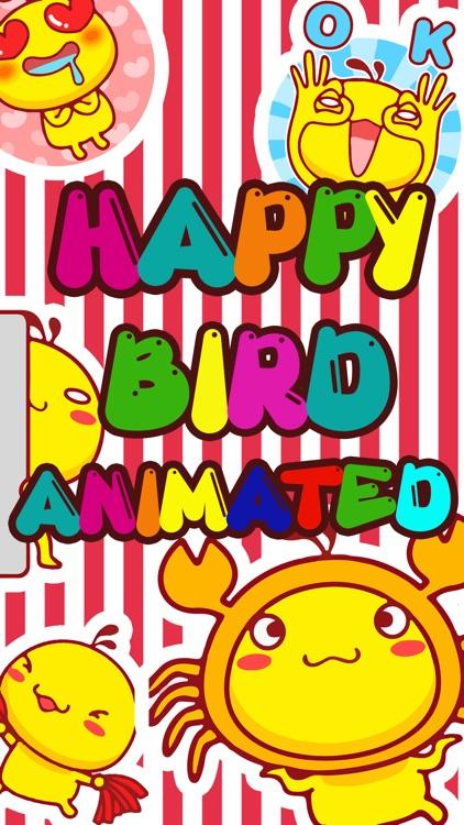Happy Bird Animated