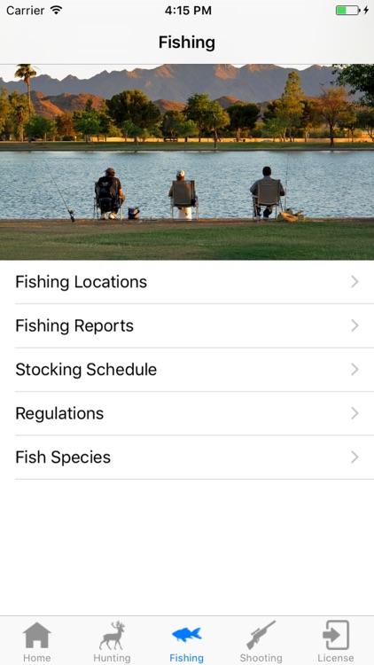 Arizona Hunting and Fishing by Brad Booth