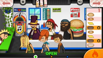 Papa's Burgeria To Go Screenshot 2