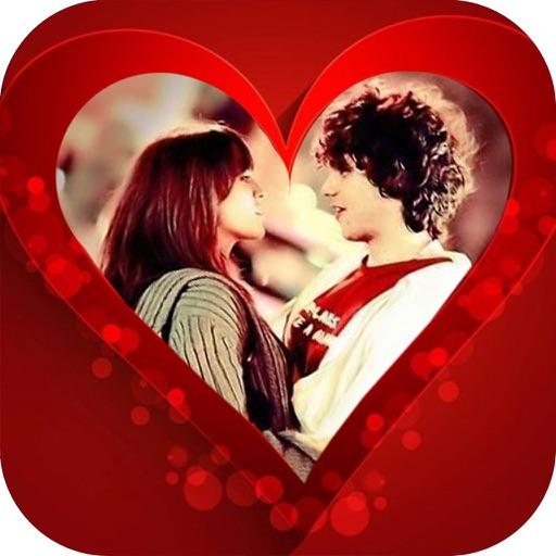 Valentine.s Wishing Card - Love Photo Sticker FX app logo