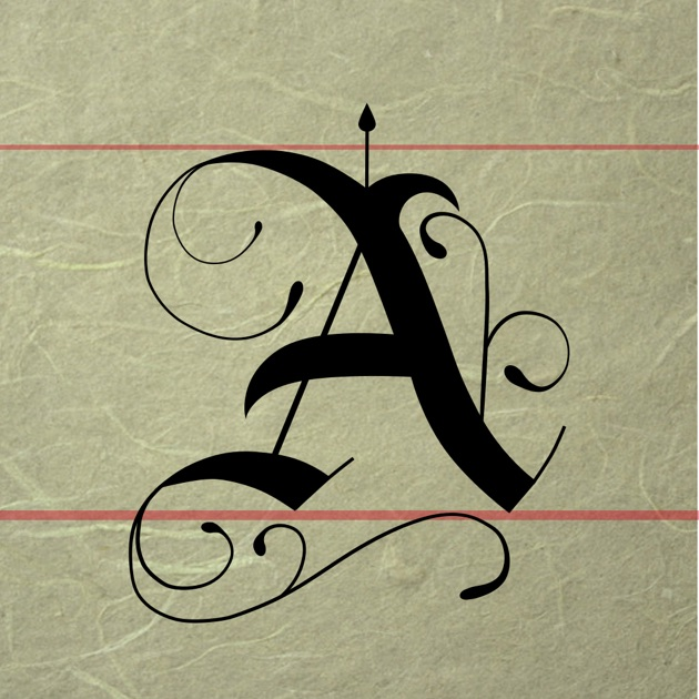 Calligraphy handbook on the app store Calligraphy store
