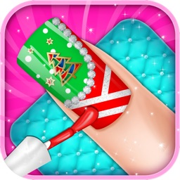 Merry Christmas Nail Salon - Girls games free