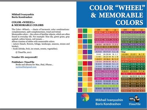 Color Wheel Memorable Color By Mikhail Ivanyushin Boris