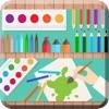 宝宝涂鸦绘画画板-益智画图教育简笔画大全