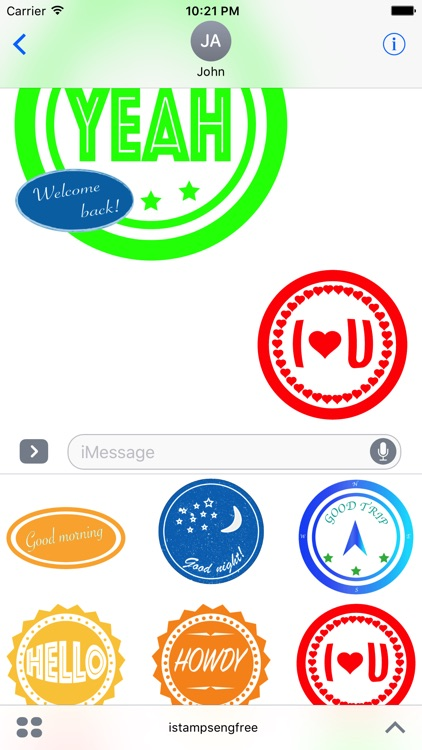 iStamps English Free screenshot-3