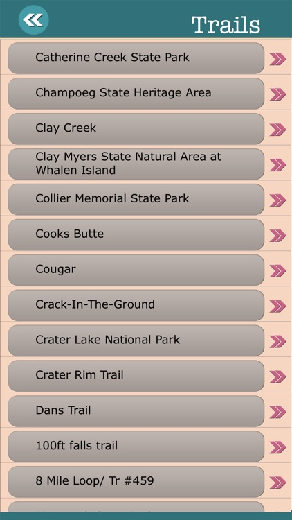 Oregon State Campgrounds & Hiking Trails screenshot-3