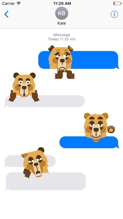 BearBoo Sticker screenshot-3