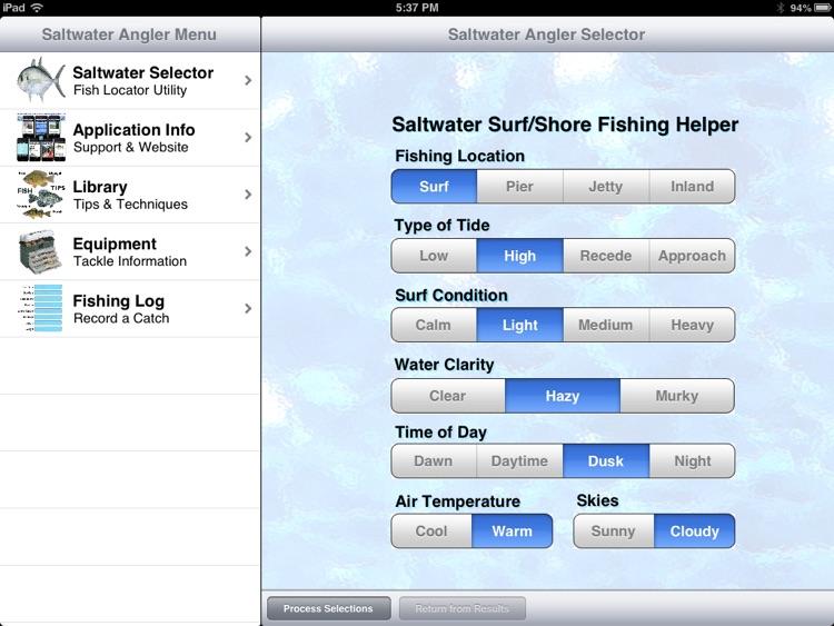 Saltwater Angler Pro screenshot-3