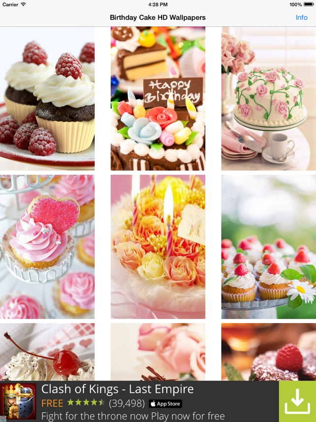 happy birthday wallpapers hd best greetings cakes on the app store