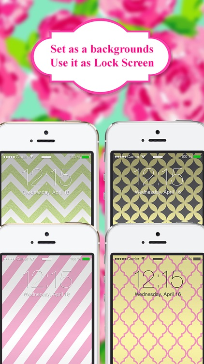 Monogram App - Wallpaper & Backgrounds for iPhone screenshot-0