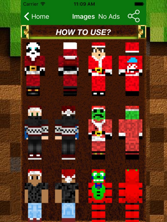 New Best Christmas Skins PRO For Minecraft PE PC App Price Drops - Skins para minecraft pc 1 11