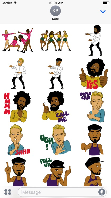 Major Lazer Stickers
