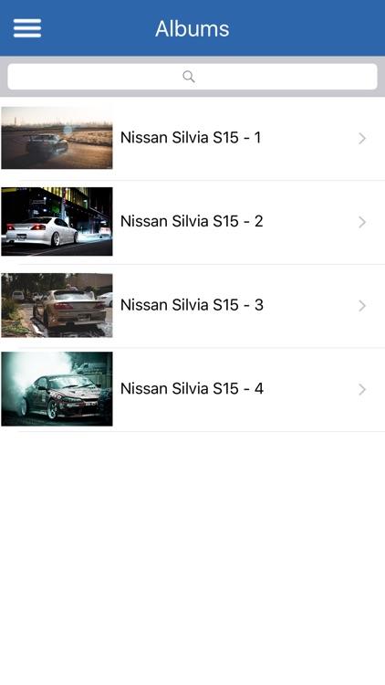 HD Car Wallpapers - Nissan Silvia S15 Edition screenshot-3