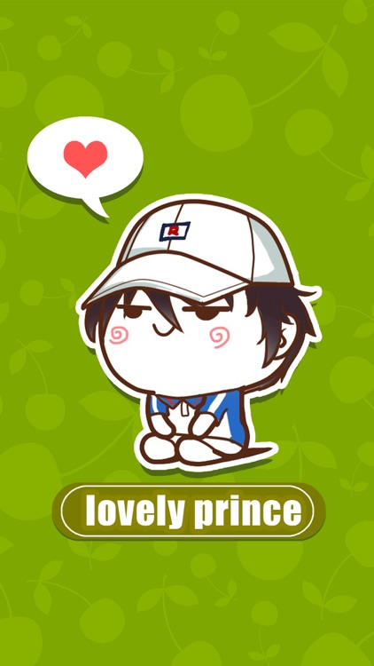 LOVELY PRINCE - NHH Animated Stickers screenshot-0