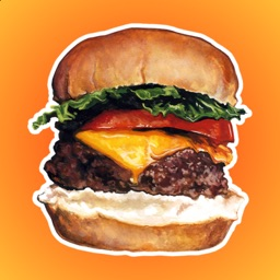 Burgers and Fast Food Stickers