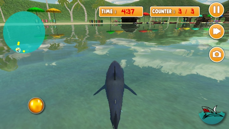 3D Killer Shark Attack Simulator