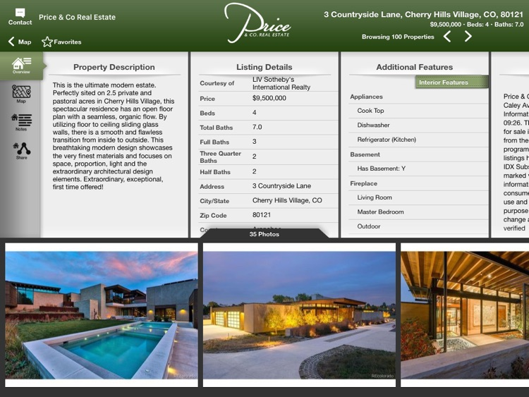 Price & Co Home Search for iPad screenshot-3