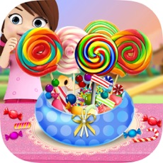 Activities of Colorful Candies Shop - Make Rainbow Sweets