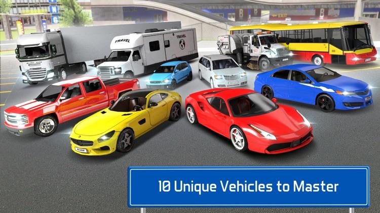 Multi Level 7 Car Parking Garage Park Training Lot screenshot-4