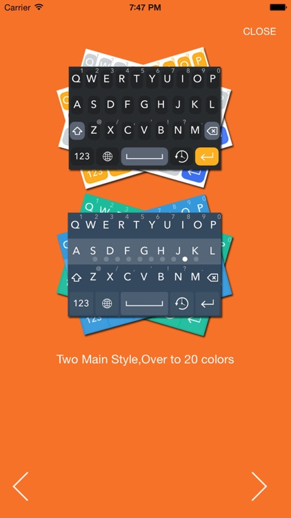 Keyboard X-pro app for iphone
