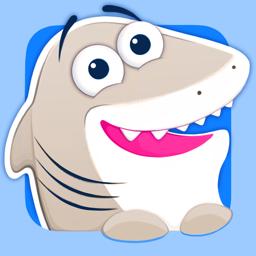 Ícone do app Tubarão Agradável! Bom Gato e Pinguim da Vaquinha