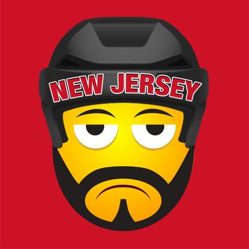 New Jersey Hockey Stickers & Emojis
