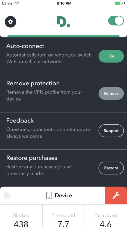 Disconnect Pro Privacy and Performance