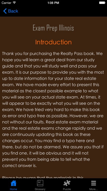 ExamPrepIL Illinois Real Estate Agent Exam Prep. screenshot-3