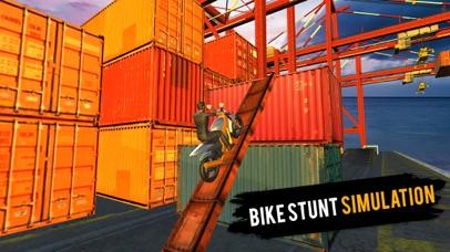 Xtreme Moto-r Bike 3D Stunts Sim-ulator 2017 screenshot one