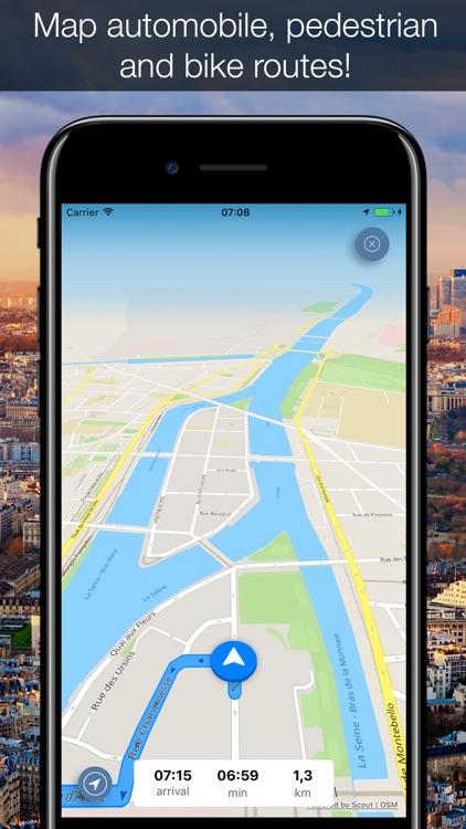 Paris 2017 — offline map and navigation! screenshot-3