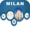 Milan Italy Offline City Maps Navigation & Transit