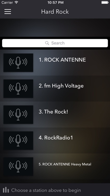Hard Rock Music Radios - Top Stations FM/AM Player
