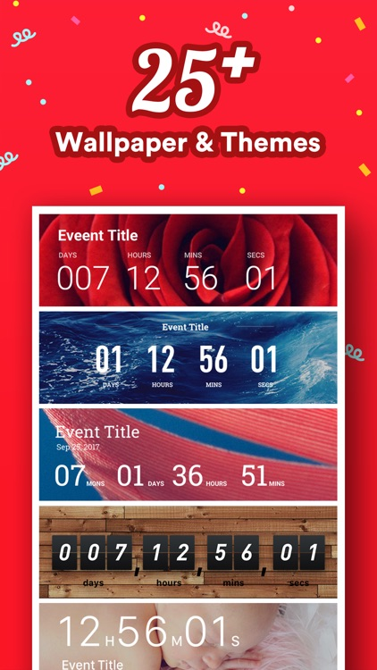 Countdown - Count Down to Big Day Event Reminder