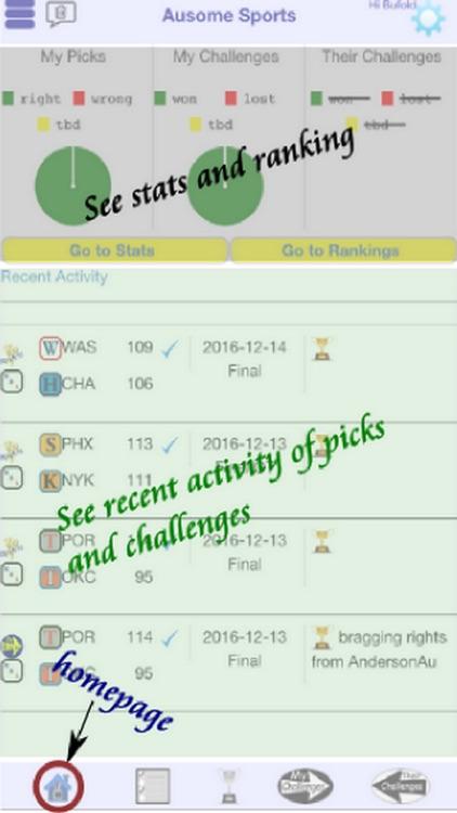 Ausome Sports Pick & Challenge