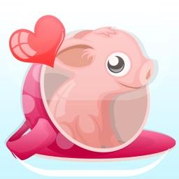 Mini-PigMoji: Teacup Pig Emoji & Stickers App