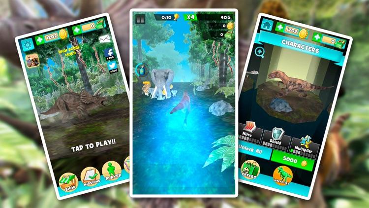 Jurassic Clan . Jungle Attack! screenshot-3