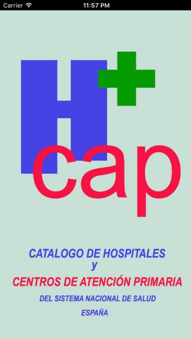 HOSPITALES Y CENTROS DE AP screenshot 1