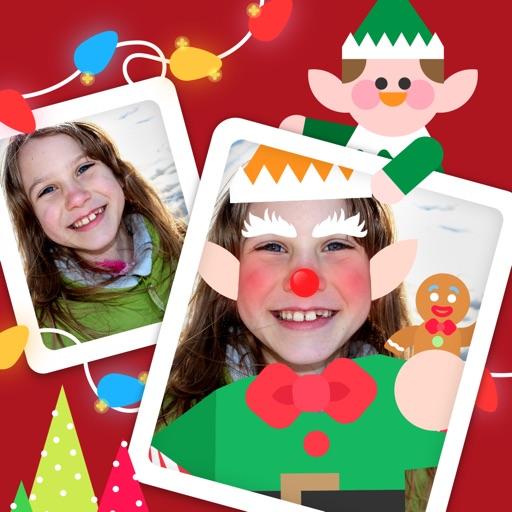Dancing Elf Booth for Christmas - Xmas Magic Elves app logo